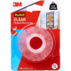 CLEAR MOUNTING TAPE CAT4010C 21MM X 2M